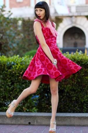 Alyssa Nicole dress - Alyssa Nicole scarf - pink cuff Alyssa Nicole bracelet
