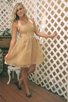 gold Alyssa Nicole dress