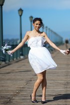 white Alyssa Nicole dress