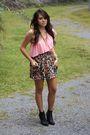 Pink-baby-phat-blouse-pink-american-rag-skirt-black-target-boots