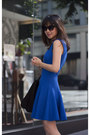Pour-la-victoire-bag-french-connection-dress-nine-west-heels
