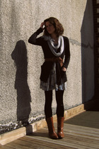 Urban Outfitters dress - Target cardigan