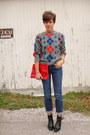 Black-boots-calvin-klein-jeans-vintage-diane-von-furstenberg-sweater