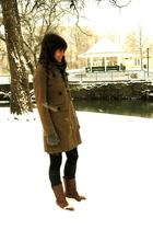 vintage boots - Charlotte Russe coat