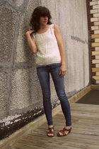 vintage blouse - BDG jeans
