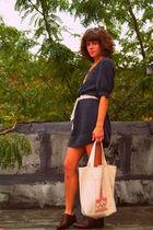 H&M dress - vintage shoes