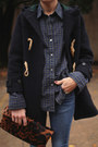 Navy-toggle-ralph-lauren-coat-tan-h-by-hudson-boots-gap-jeans