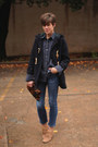Tan-h-by-hudson-boots-navy-toggle-ralph-lauren-coat-gap-jeans