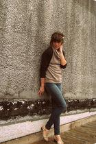 BDG jeans - vintage shoes