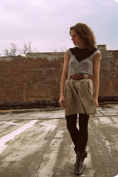 vintage skirt - Anna Sui for Target shirt