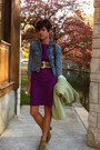 Army-green-vintage-bag-light-brown-h-by-hudson-boots-purple-gap-dress