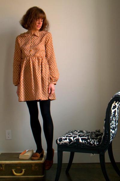handmade dress - Cole Haan loafers