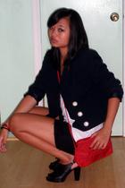 christian dior jacket - Fendi purse - old jeans i cut up shorts - crown vintage