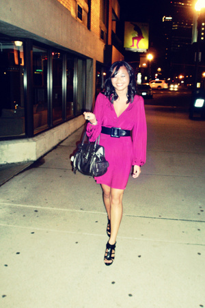 twelft st by cynthia vincent dress - calvin klein purse