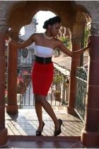 skirt - belt - top