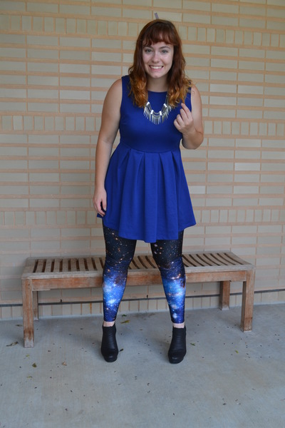 Silver H&M Accessories, Black Asos Boots, Navy Forever 21 ...