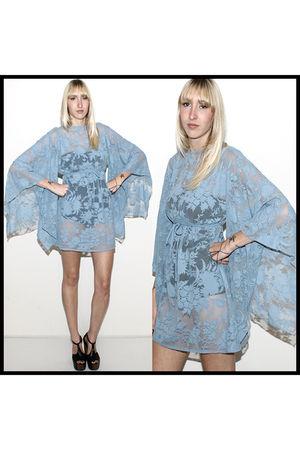 blue vintage from Ebay dress