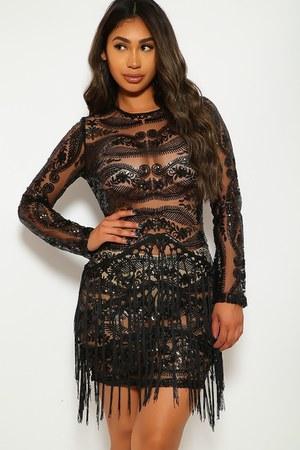 black AmiClubWear dress