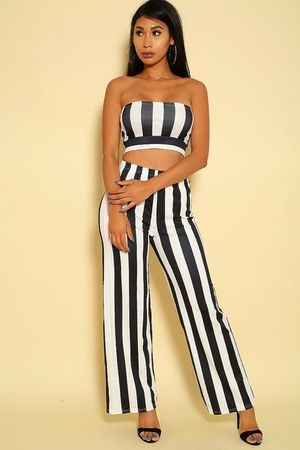 black candy stripes AmiClubWear jumper