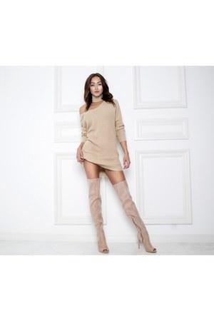 AmiClubWear boots - AmiClubWear dress