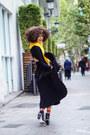 Black-asos-dress-yellow-asos-sweater-black-asos-skirt