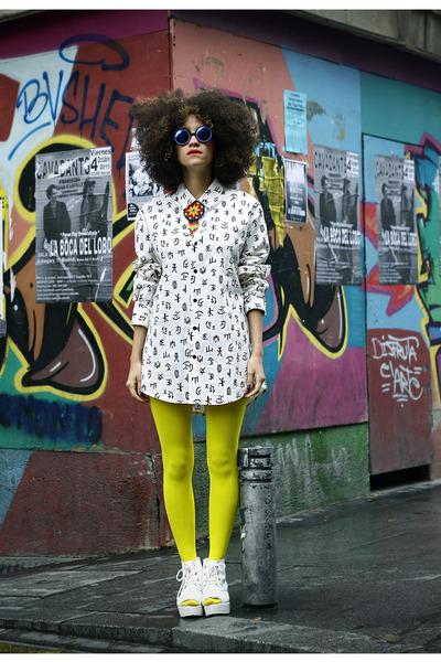 white Miranda Makaroff for Lydia Delgado shirt - white Ebay boots