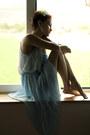 Light-blue-pleated-chicwish-dress