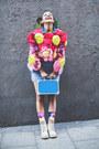 Ivory-panama-jack-boots-light-blue-motel-rocks-dress-hot-pink-diy-jacket