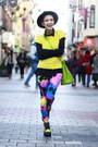 Chartreuse-asos-boots-white-nifty-thrifty-coat-blue-we-love-colors-leggings