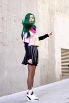 green wig wonderland wigs hair accessory - bubble gum romwe shirt