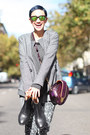 Gray-girissima-blazer-amethyst-girissima-bag-blue-we-love-colors-socks