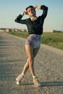 Boodwah-shorts-chicwish-blouse-romwe-necklace-thallo-ring
