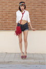 Yellow-from-guatemala-handmade-shoes-red-akira-bag-navy-diy-shorts