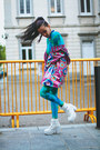 Hot-pink-raincoat-desigual-jacket
