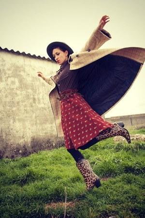 vintage skirt - umbrella Misako accessories
