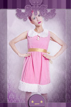 bubble gum Yiddish Chutzpah dress