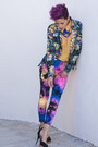 Amethyst-we-love-colors-leggings-black-ax-paris-blazer