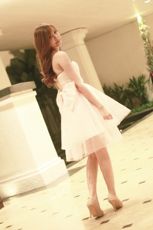 light pink DIY vanilla couture dress