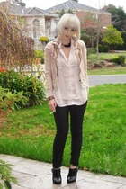 CFM jacket - cotton on shirt - from etsy necklace - some boutique bracelet - Sas
