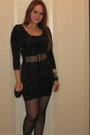 Charcoal-gray-uk-style-french-connection-dress-sequin-charlotte-russe-purse