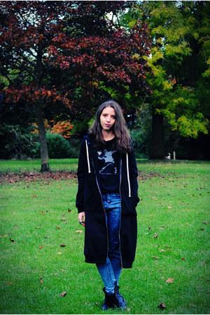 Geox boots - Primark jeans - Rosegal sweatshirt