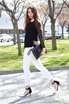 Teenagers bag - Zara shoes - Zara shirt - Stradivarius pants