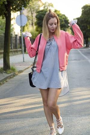 bomber jacket Mohito jacket - ballet flats deezee flats