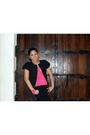 Black-diane-von-furstenberg-jacket-black-random-pants-pink-random-top-blac
