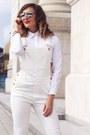 Ivory-h-m-jeans-white-romwe-shirt-silver-freya-stores-sunglasses