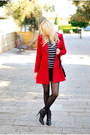 Black-zara-boots-red-asos-coat