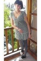 Primark dress - H&M tights - BLANCO shoes