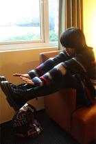 Zara sweater - Dr Martens boots