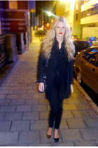 whyred jacket - acne jeans - myrorna top - Bally shoes - 2orplus purse