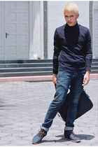 Lee Cooper jeans - Zara bag - H&M sneakers - Topman top